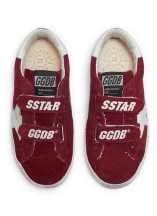 Figure View - Click To Enlarge - GOLDEN GOOSE - 'Old School' suede toddler sneakers
