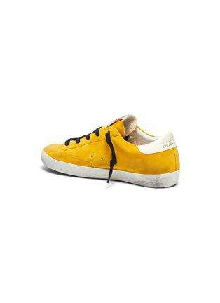 Detail View - Click To Enlarge - GOLDEN GOOSE - 'Superstar' suede kids sneakers