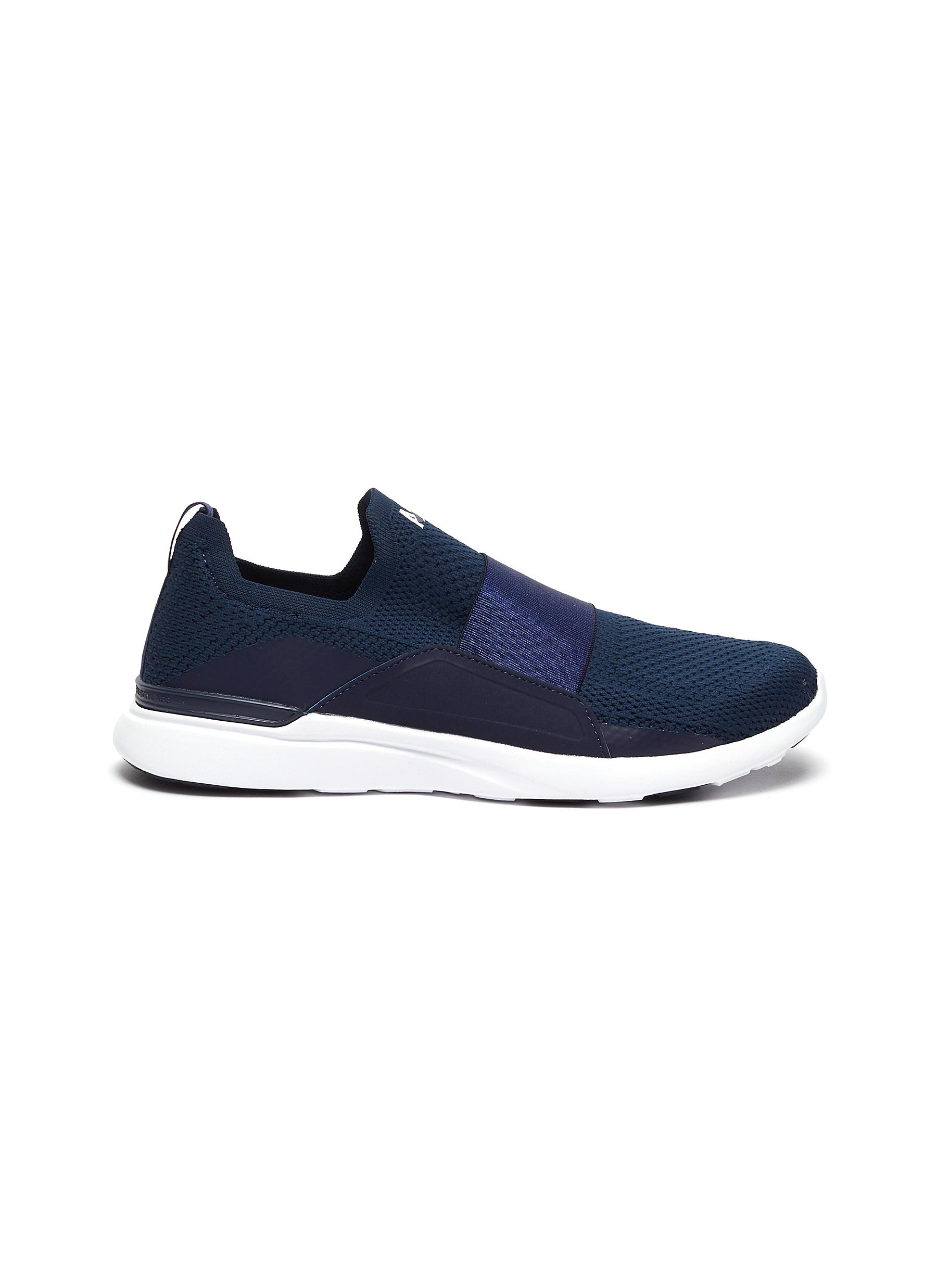 Techloom Bliss knit slip-on sneakers by Athletic Propulsion Labs