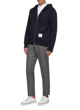 Figure View - Click To Enlarge - THOM BROWNE - Wool pants