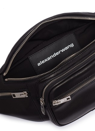 Detail View - Click To Enlarge - ALEXANDERWANG - 'Attica' leather bum bag