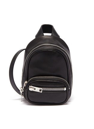 Main View - Click To Enlarge - ALEXANDERWANG - 'Attica' mini leather crossbody bag