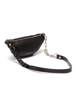 Detail View - Click To Enlarge - ALEXANDERWANG - 'Attica' mini leather bum bag