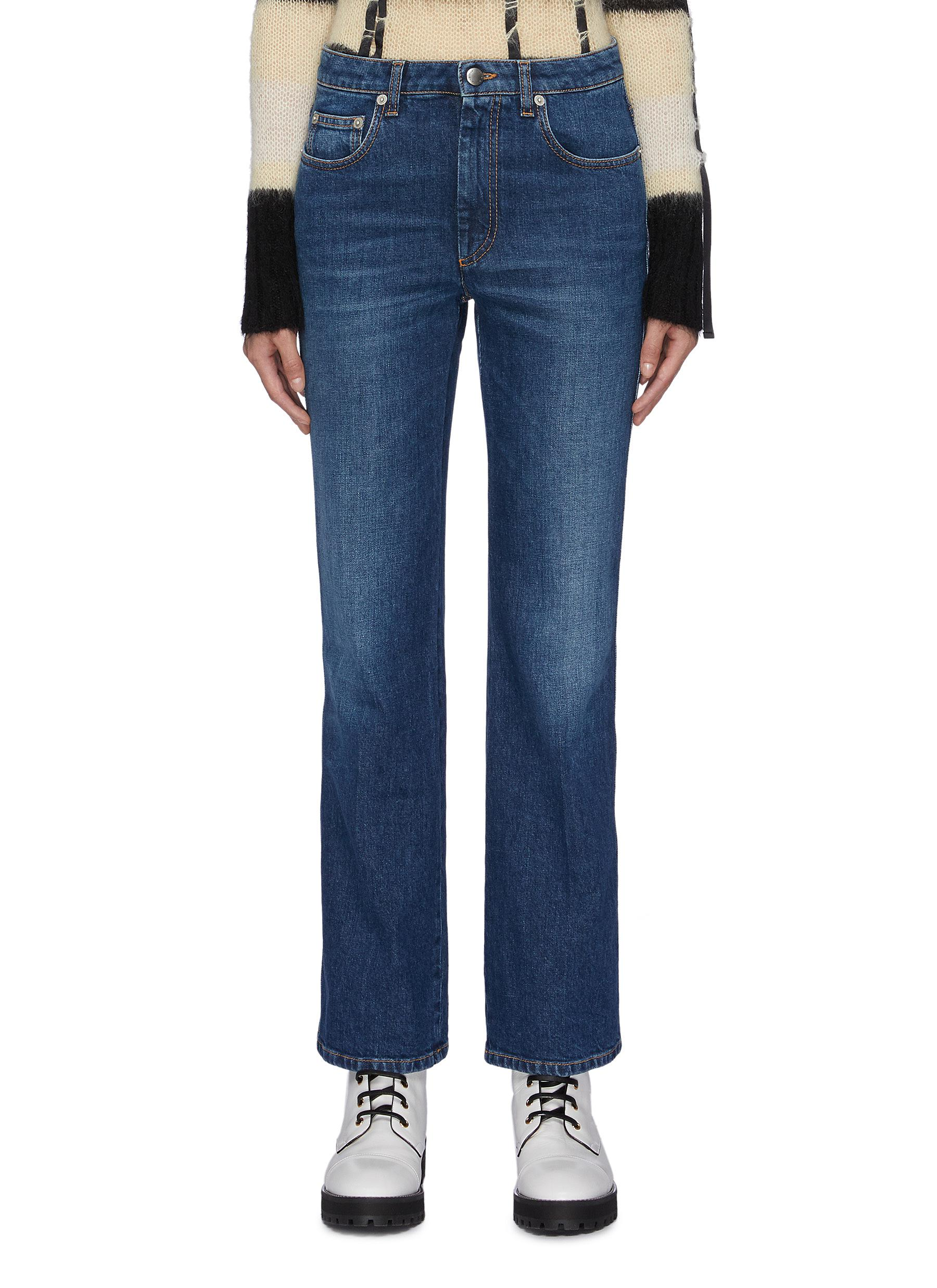 Washed flared jeans by Sonia Rykiel