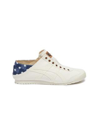 lowest price e6eb5 55b78 'Mexico 66 Paratay' faux leather trim denim slip-on sneakers