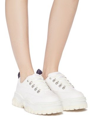 Figure View - Click To Enlarge - EYTYS - 'Angel' chunky outsole canvas sneakers