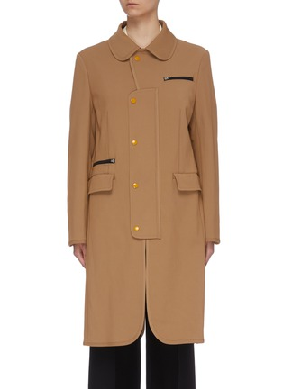 Main View - Click To Enlarge - TOGA ARCHIVES - Mix pocket coat