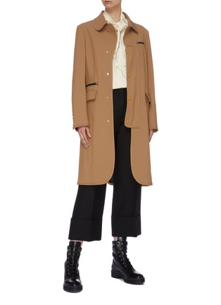 Figure View - Click To Enlarge - TOGA ARCHIVES - Mix pocket coat