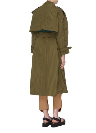 Back View - Click To Enlarge - TOGA ARCHIVES - Two-in-one trench coat