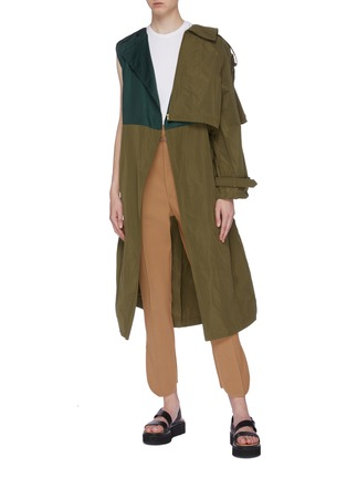 Figure View - Click To Enlarge - TOGA ARCHIVES - Two-in-one trench coat