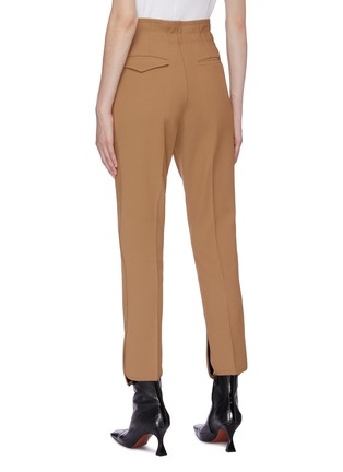 Back View - Click To Enlarge - TOGA ARCHIVES - Waist tab petal cuff suiting pants
