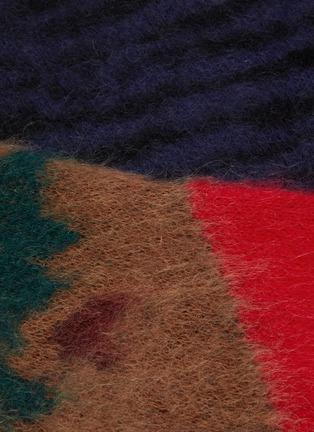- TOGA ARCHIVES - Colourblock animal print jacquard sweater