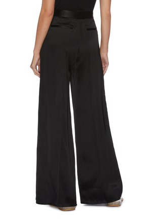 Back View - Click To Enlarge - LOEWE - Pleated satin pants