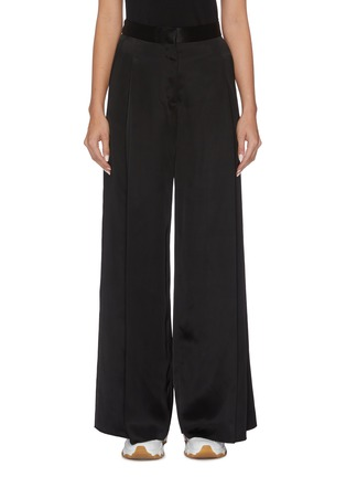 Main View - Click To Enlarge - LOEWE - Pleated satin pants