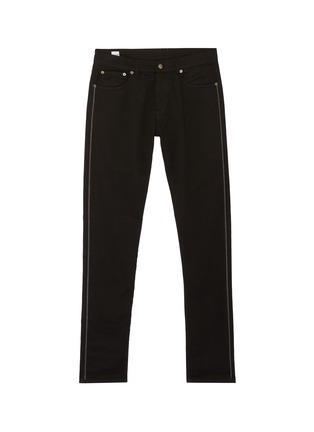 Main View - Click To Enlarge - EIDOS - Chain outseam jeans