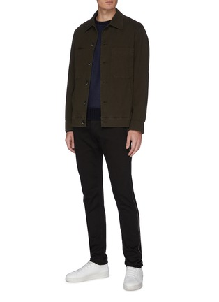 Figure View - Click To Enlarge - EIDOS - Chain outseam jeans