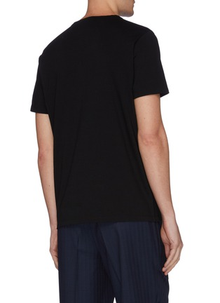 Back View - Click To Enlarge - EIDOS - Chain shoulder T-shirt