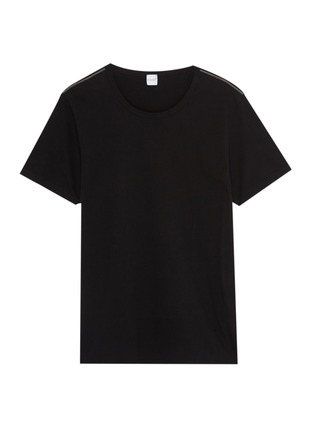 Main View - Click To Enlarge - EIDOS - Chain shoulder T-shirt