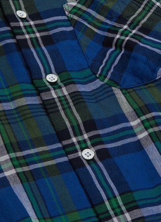 - RAG & BONE - 'Fit 3 Beach' tartan plaid twill shirt