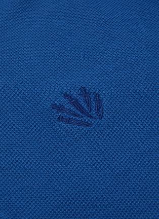 - RAG & BONE - Dagger logo embroidered polo shirt
