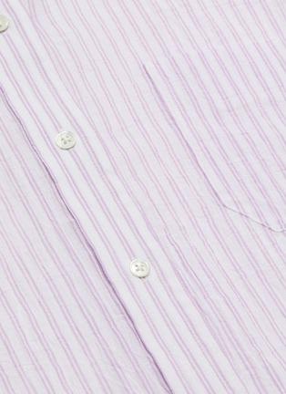 - VINCE - Stripe boxy shirt