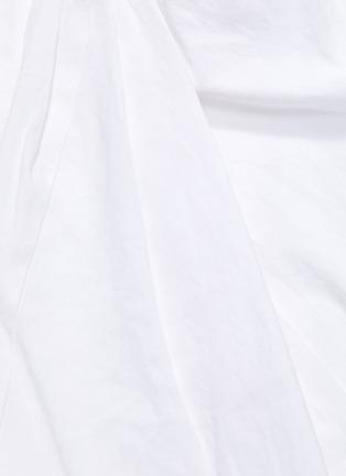 - VINCE - Tie sleeveless midi dress