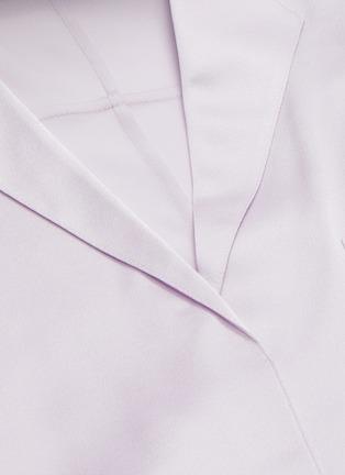- VINCE - Silk satin pyjama shirt