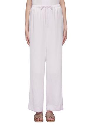 Main View - Click To Enlarge - VINCE - Silk satin wide leg pyjama pants