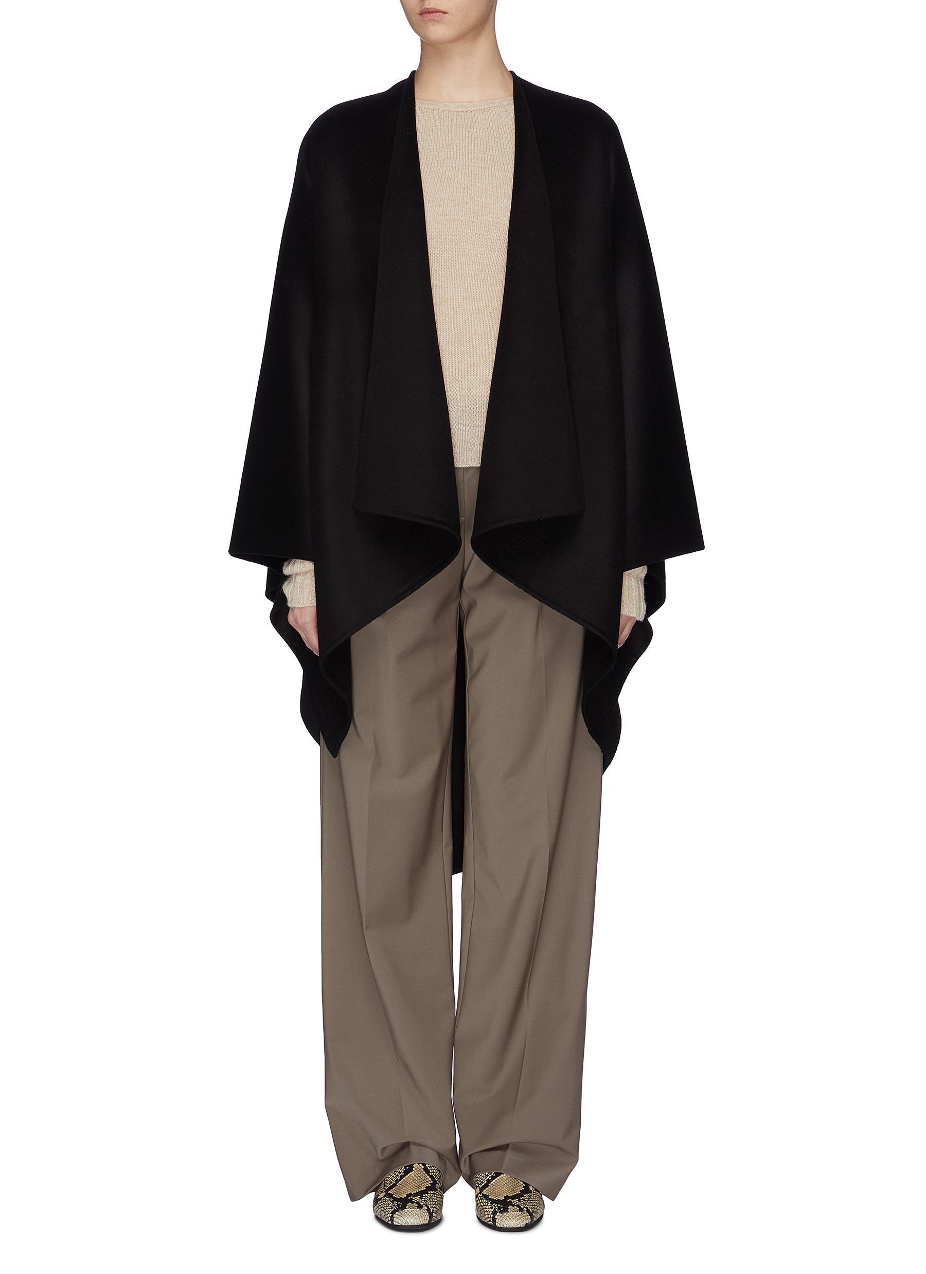 Quadro wool-cashmere cape by Joseph