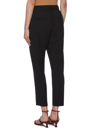 Back View - Click To Enlarge - VINCE - Tapered crepe pants
