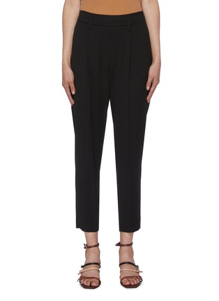 Main View - Click To Enlarge - VINCE - Tapered crepe pants