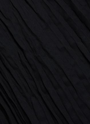 - VINCE - Crinkled pleated asymmetric skirt