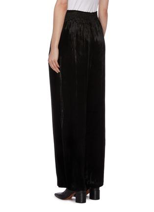 Back View - Click To Enlarge - MS MIN - Velvet wide leg pants