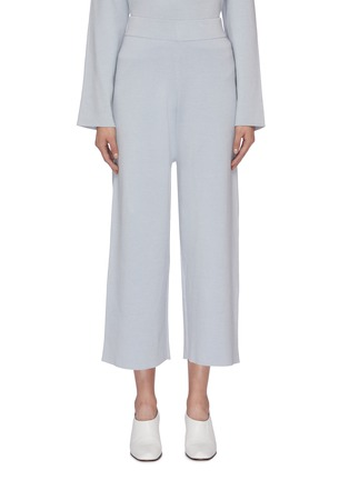 Main View - Click To Enlarge - MS MIN - Knit culottes