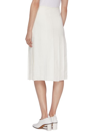 Back View - Click To Enlarge - MS MIN - Pleated skirt