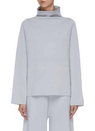 Main View - Click To Enlarge - MS MIN - Knit turtleneck top