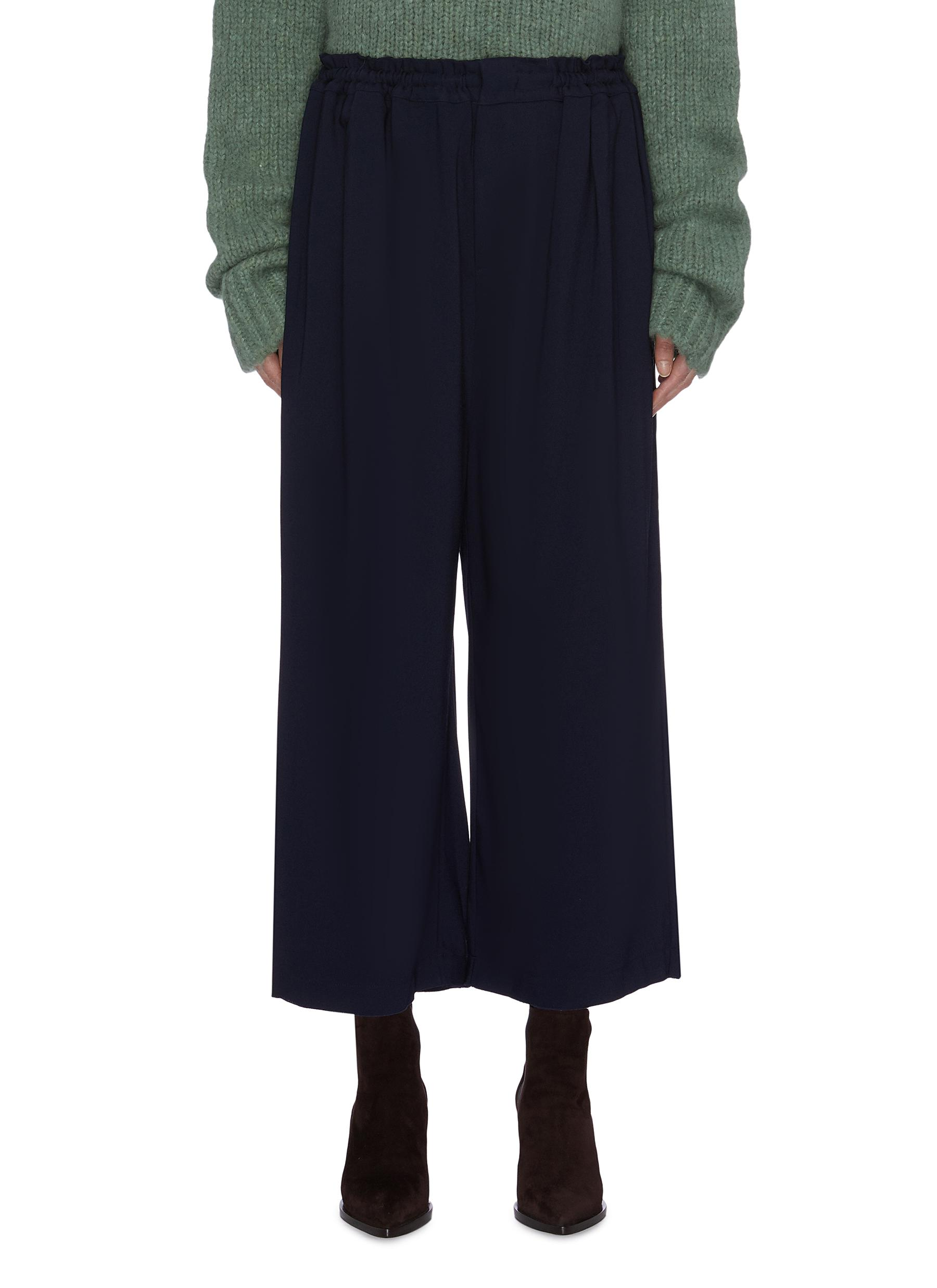 Elastic waistband culottes by Ms Min