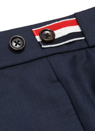 - THOM BROWNE - Wool pants