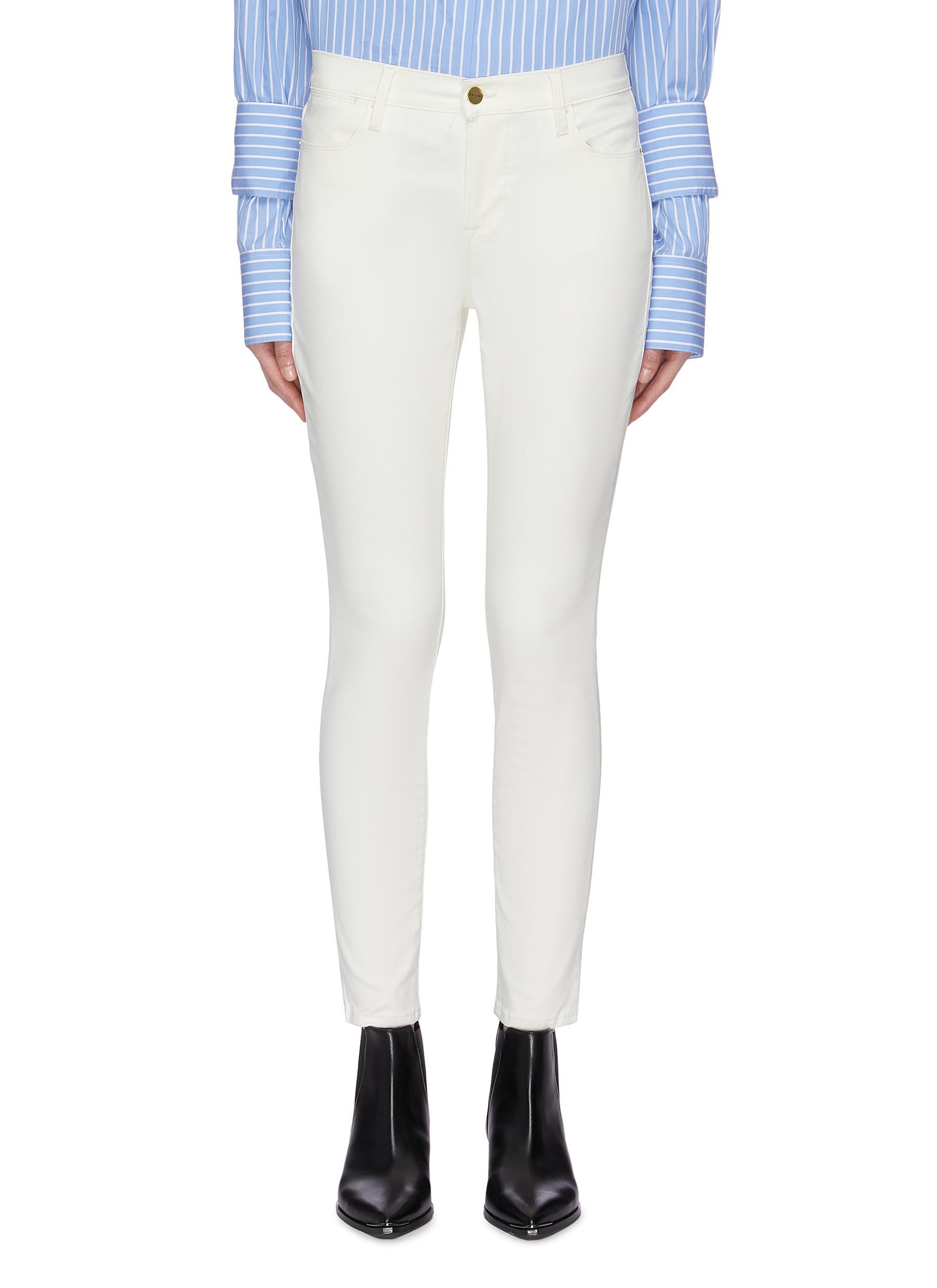 Le High Skinny jeans by Frame Denim