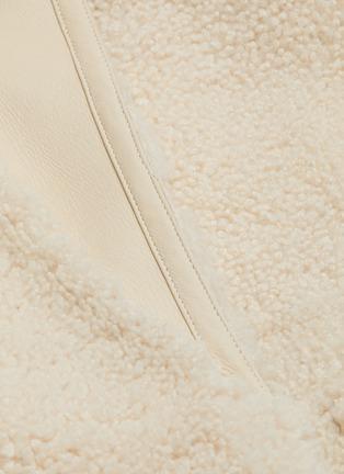 - YVES SALOMON - Belted lambskin shearling cashmere-wool coat