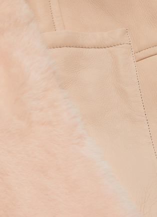 - YVES SALOMON - Reversible lambskin shearling coat