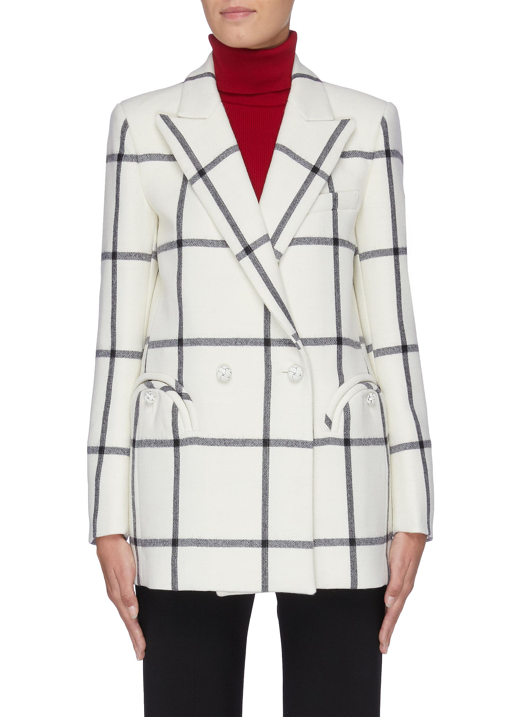 Magda check everyday blazer by Blazé Milano