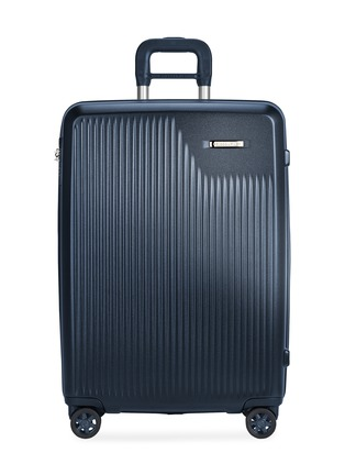 Main View - Click To Enlarge - BRIGGS & RILEY - Sympatico medium expandable spinner suitcase – Matte Navy