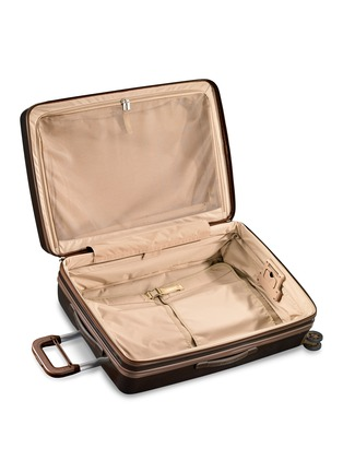 Detail View - Click To Enlarge - BRIGGS & RILEY - Sympatico large expandable spinner suitcase – Bronze