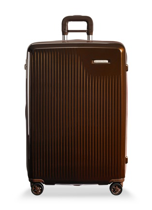 Main View - Click To Enlarge - BRIGGS & RILEY - Sympatico large expandable spinner suitcase – Bronze