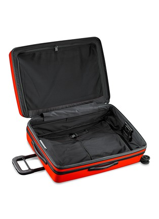 Detail View - Click To Enlarge - BRIGGS & RILEY - Sympatico large expandable spinner suitcase – Fire