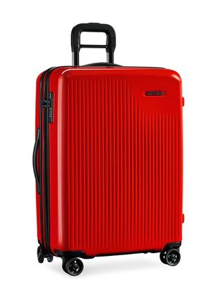 - BRIGGS & RILEY - Sympatico medium expandable spinner suitcase – Fire