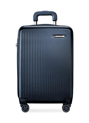 Main View - Click To Enlarge - BRIGGS & RILEY - Sympatico carry-on expandable spinner suitcase – Matte Navy