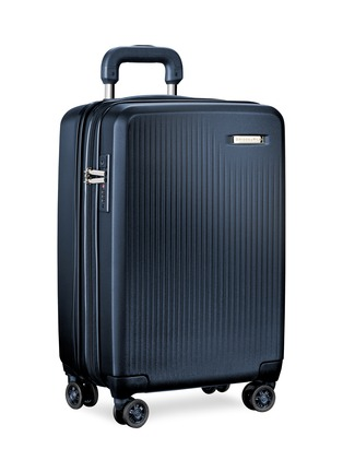 - BRIGGS & RILEY - Sympatico carry-on expandable spinner suitcase – Matte Navy