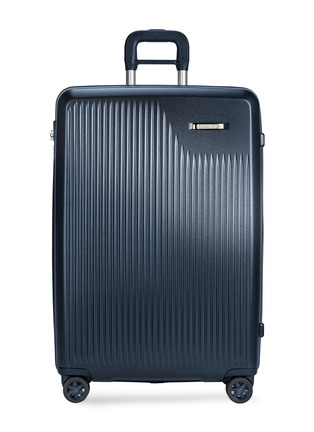 Main View - Click To Enlarge - BRIGGS & RILEY - Sympatico large expandable spinner suitcase – Matte Navy